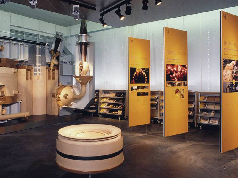 Weidmann AG, Rapperswil corporate showroom
